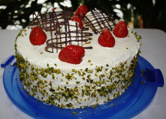 Torten Erdbeer Schmand Torte